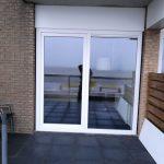 bedrijven kunstof kozijnen schuifpui hotelkamer installeren Beach Hotel de Vigilante Makkum