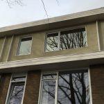 particulier kunststof kozijnen 1e 2e verdieping Pieter Borstraat Amsterdam