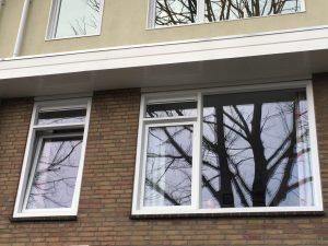 particulier kunstof kozijnen 1e verdieping Pieterborgstraat Amsterdam